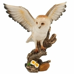 Flying Owl Bird Statue
