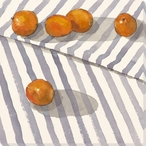 Follow the Leader Oranges Wrapped Canvas Giclee Print Wall Art