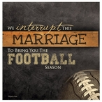 Football Season Absorbent Beverage Coasters by Maria Rae, Set of 8