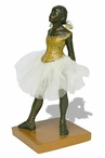 Fourteen Year Old Little Dancer Ballerina Statue by Edgar Degas