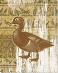 Fourth Duck Bird Wrapped Canvas Giclee Print Wall Art