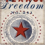 Freedom State Wrapped Canvas Giclee Print Wall Art