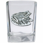 Frog Pewter Accent Shot Glasses, Set of 4
