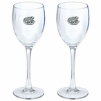 Frog Pewter Accent Wine Glass Goblets, Set of 2