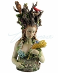 Gaia Greek Primordial Goddess of Earth Sculpture