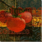 Garden Tomate Tomato Wrapped Canvas Giclee Print Wall Art