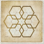 Geometrics 2 Wrapped Canvas Giclee Art Print Wall Art