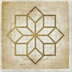 Geometrics 6 Wrapped Canvas Giclee Art Print Wall Art