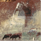Ghost Rancher Wrapped Canvas Giclee Print Wall Art