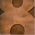 Gill Sans Ultra Bold Number 8 Wrapped Canvas Giclee Print Wall Art