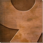 Gill Sans Ultra Bold Number 9 Wrapped Canvas Giclee Print Wall Art