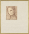 Giovane Donna Matted and Framed Art Print Wall Art