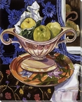 Gothic Apples Wrapped Canvas Giclee Print Wall Art