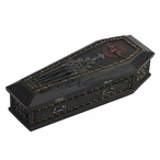 Gothic Coffin Vampire Slayer Kit Trinket Box