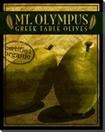 Gourmet Mt. Olympus Greek Table Olives Wrapped Canvas Print
