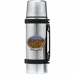 Grand Canyon Stainless Steel Thermos with Pewter Accent