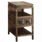 Grand Junction Chairside Fir and MDF End Table