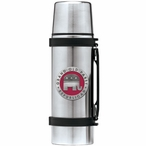 Grand Old Party Republican Red Stainless Steel Thermos with Pewter