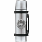 Grand Old Party Republican Stainless Steel Thermos with Pewter Accent
