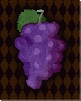 Grapes Wrapped Canvas Giclee Print Wall Art