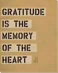 Gratitude is the... Saying Wrapped Canvas Giclee Print Wall Art