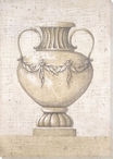 Grecian Urn 2 Wrapped Canvas Giclee Print Wall Art