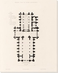 Ground Plan of Ripon Cathedral Wrapped Canvas Giclee Print Wall Art
