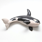 Hanging Killer Whale Statues, Set of 4