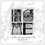 Home Absorbent Beverage Coasters by Jan Shade Beach, Set of 12