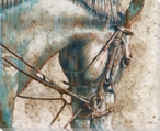 Horse 1 Wrapped Canvas Giclee Print Wall Art