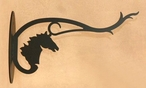 Horse Head Metal Wall Plant Hanger
