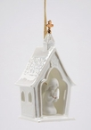 House of Worship Christmas Tree Ornaments, Set of 4