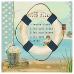 House Rules Absorbent Beverage Coasters by Grace Pullen, Set of 12