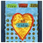 In Color Absorbent Beverage Coasters by Tamara Holland, Set of 12