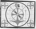 Indian Head Test Pattern Wrapped Canvas Giclee Print Wall Art