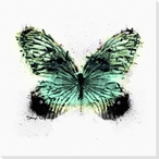 Inked Butterfly 1 Wrapped Canvas Giclee Print Wall Art