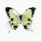 Inked Butterfly 2 Wrapped Canvas Giclee Print Wall Art