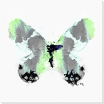 Inked Butterfly 4 Wrapped Canvas Giclee Print Wall Art