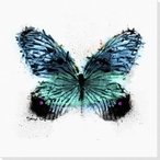 Inked Butterfly 5 Wrapped Canvas Giclee Print Wall Art