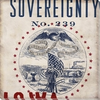 Iowa Sovereignty State Wrapped Canvas Giclee Print Wall Art