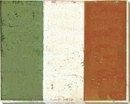 Italy: Italian Flag Wrapped Canvas Giclee Print Wall Art