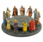 King Arthur and the Knights of the Round Table Medieval Sculpture