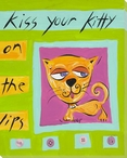 Kiss Your Kitty Wrapped Canvas Giclee Print Wall Art