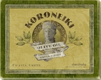 Koroneiki Greek Olive Oil Wrapped Canvas Giclee Print Wall Art