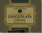 La Nocciola di Cioccolata Wrapped Canvas Giclee Print Wall Art