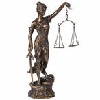 Lady of Justice Statue