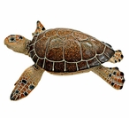 Large Brown Turtle Statue
