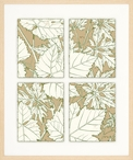Leaves of Nature No. 1 Matted and Framed Art Print Wall Art