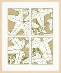 Leaves of Nature No. 2 Matted and Framed Art Print Wall Art