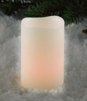 LED Wax Votive Candles with Five Hour Timer, Set of 12